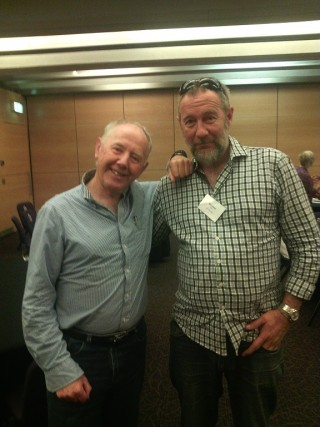 Father and Child's Brendon Smith with Dr. Richard Fletcher at AAIMHI Sydney