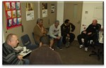 Dads gather in a circle every Wed in Onehunga