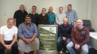 Staff and Board members at June 2014 hui